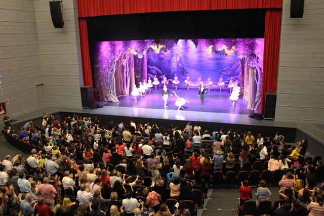31-10-18 Moscow State Ballet Lago de Los Cisnes 44