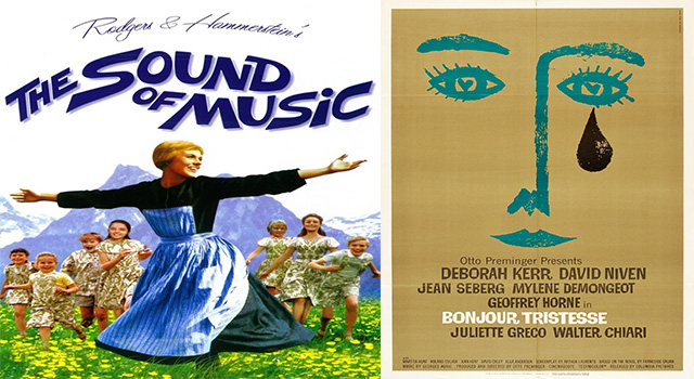 P - The sound of music y Bojour
